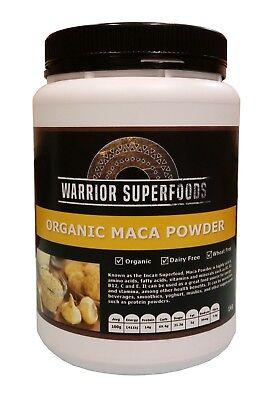 Warrior Superfoods Raw Organic Peruvian Maca Powder 1kg - Best Before DEC