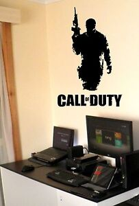 Call of Duty Vinyl wall art sticker decal  Xbox  PS3