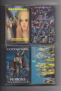 CATHEDRAL-Lot-of-4-SEALED-cassettes-Earache-Doom