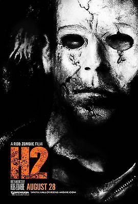Halloween H2 Poster Print 11x17 Rob Zombie Tyler Mane](Rob Zombie Halloween 2 Poster)