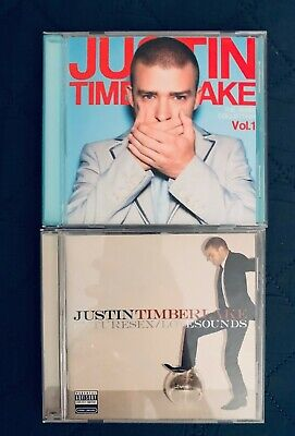Justin Timberlake Future used CD  + Free Best of Remix Collection Rock your (Best Music Albums 2000s)