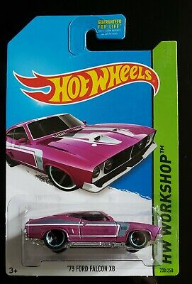 2014 Kmart Only PURPLE ~ HOT WHEELS WORKSHOP ' 73 Ford Falcon XB GT 351 V8 (Ford Falcon Xb Gt Coupe V8 351)