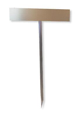 Parkplatzschild Einschlagpfosten Nummernschild-Befestigung-Einbetonieren 750 mm