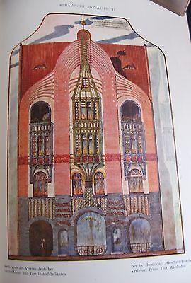 Jugendstil Architektur Keramische Monatshefte Liegnitz 1902 Fassadenentwürfe