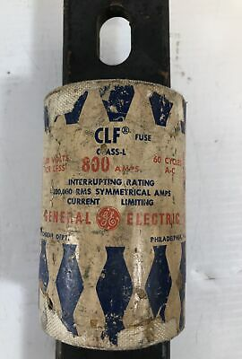 General Electric Ge Fuse Clf 800 Amps Class L