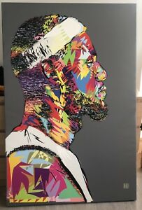 Lebron Canvas Print Art