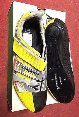 Chaussures Vélo De Course Diadora Athlétisme Road Vélo Chaussures 42 43 92d3464c26d
