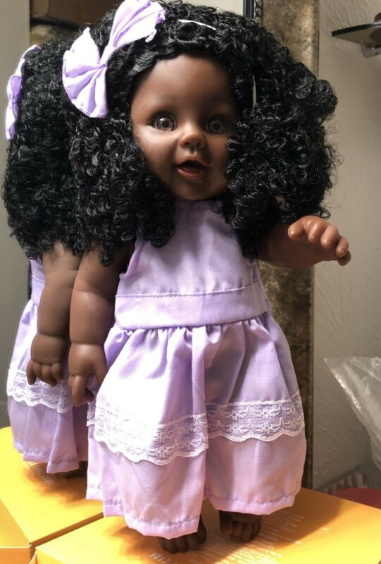 A Beautiful Doll With A Smiling Face & Soft Hair.