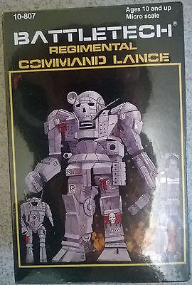 Ral Partha Battletech 10-807 Regimental Command Lance Zeus,Oscout,Cyclops,Atlas