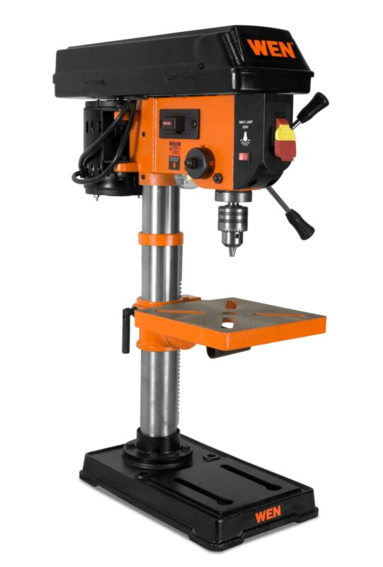 """Bench Top 10""""  Drill Press 5 Speed Heavy Duty Variable Speed"""