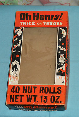 vintage original Williamson OH HENRY! HALLOWEEN CANDY BOX (only)