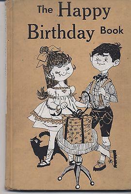 The Happy Birthday Book HC 1955 Vintage Birthday Gift ](Happy Birthday Books)