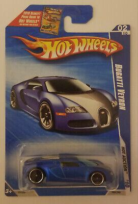 Hot Wheels 2010 Hot Auction Bugatti Veyron 02/10