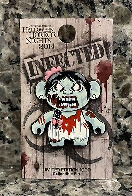 Halloween Studio Universal (UNIVERSAL STUDIOS HALLOWEEN HORROR NIGHTS INFECTED ZOMBIE LIMITED EDITION)
