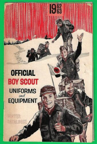 1962-3 BOY SCOUT WINTER CATALOG of UNIFORMS and EQUPMENT