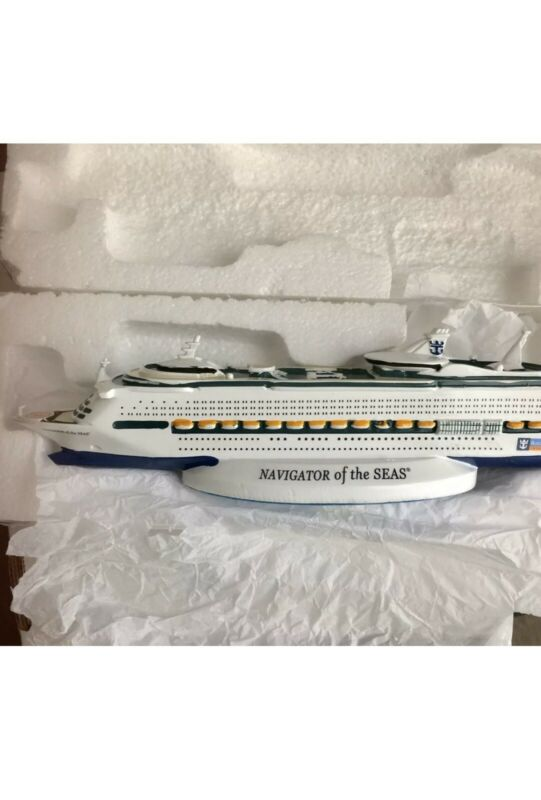 Revamped Navigator of the Seas Royal Caribbean Official Licensed Ship Model New