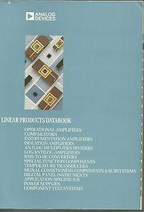 Analog Devices - Linear Products Databook - France - État : Trs bon état : Livre qui ne semble pas neuf, ayant déj été lu, mais qui est toujours en excellent état. La couverture ne présente aucun dommage apparent. Pour les couvertures rigides, la jaquette (si applicable) est incluse. Aucune  - France
