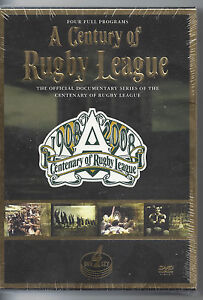 A CENTURY OF RUGBY LEAGUE  1908-2008 (4-DISC DVD SET)