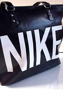 Womens Nike Heritage Handbags Large Work Gym Casual Black Tote Bags Great Gift