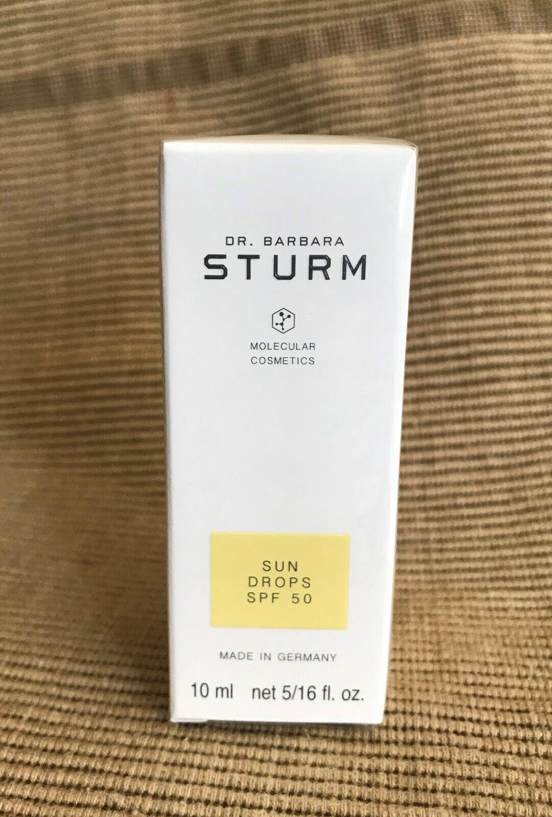 New Sealed Dr. Barbara Sturm Molecular Cosmetics Sun Drops SPF50 10ML Travel SZ  - $29.99