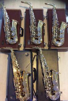 Saxophones for sale - multiple listing