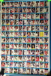 1989/90 O-Pee-Chee OPC Hockey Uncut Sheets Complete Set Stratford Kitchener Area image 5