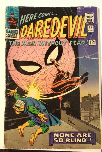 DAREDEVIL 17 - 2nd John Romita Spider-Man art, Stan Lee story, Masked Marauder