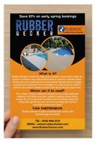 Rubber surfacing landscaping