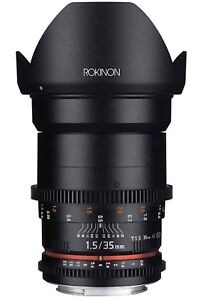 Rokinon DS35M-C Cine DS 35mm T1.5 AS IF UMC For CANON