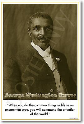 George Washington Carver   African American Poster
