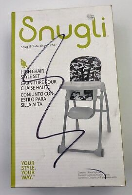 Snugli High Chair Style Set - Camo Your Style Your Way - Camo High Chair