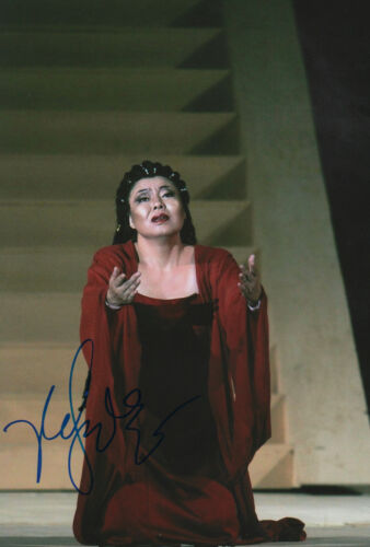 Ailyn Perez Opera Signed 8x12 Inch Photo Autograph Classical, Opera & Ballet Music