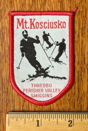 Vintage Ski Patch ~ Mt. Kosciusko, Thredbo Perisher Valley Smiggins, Australia