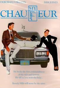 My Chauffeur - DVD  Deborah Foreman, Sam Jones FULL SCREEN RATED R