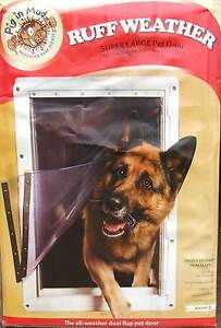 RUFF WEATHER SUPER LARGE PET DOOR Waterfall Sutherland Area Preview