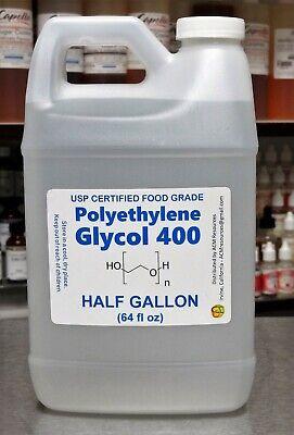 12 Gallon Polyethylene Glycol Peg 400 - Usp Food Grade Kosher 99.7 Certified