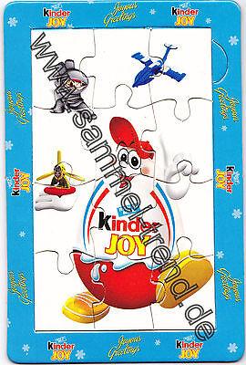 """Werbepuzzle:"""" Kinderino (Kinder Joy) aus Indien """""""