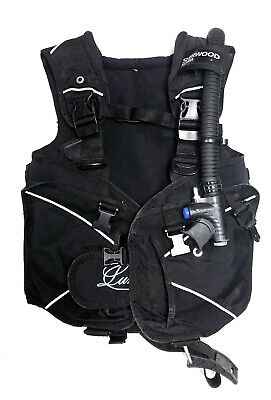 Sherwood Luna Jacket Style Women's Weight Integrated Buoyancy Compensator XS Womens Weight Integrated