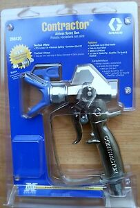 graco contractor airless spray gun ebay. Black Bedroom Furniture Sets. Home Design Ideas