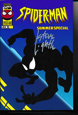 - Spider-man Summer Special TPB signed by Steve Lightle Rare HTF