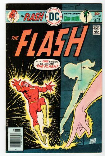 DC: THE FLASH #242 - VF June 1976 Vintage Comic