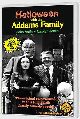 HALLOWEEN WITH THE NEW ADDAMS FAMILY (1977) DVD JOHN ASTIN, CAROLYN JONES