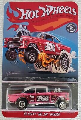 "Hot Wheels 55 Chevy Bel Air Gasser   ""CANDY STRIPER""   ( Custom )"