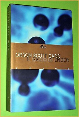 COSMO BIBLIOTECA N. 4 GIOCO DI ENDER ORSON SCOTT CARD  - ED. NORD