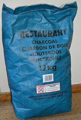 Charcoal BBQ Barbecue 12kg Premium Restaurant Grade Fuel Hardwood Lumpwood
