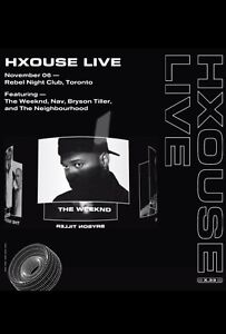 Hxouse Live Tickets