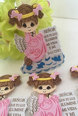 10-Bautizo Party Table Decorations Foam Centerpiece Favors Supplies Girl Baptism