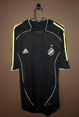 AIK Stockholm Jersey Home 2005 2006 2007 Adidas Football Soccer Shirt Sz L Rare image