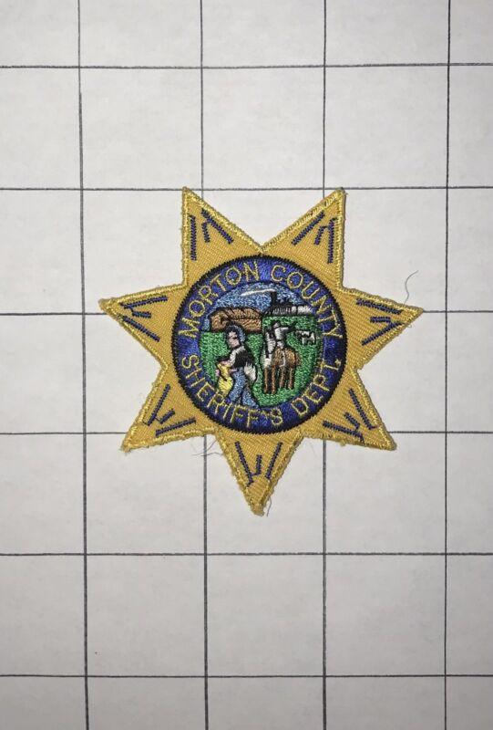 Morton County ND North Dakota Sheriff Star Patch