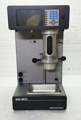 Beckman Coulter Hiac 8011 Liquid Particle Counter System W Hrld 400 Sensor.